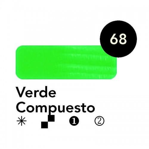 Óleo Goya 200 ml.  Verde Compuesto 68
