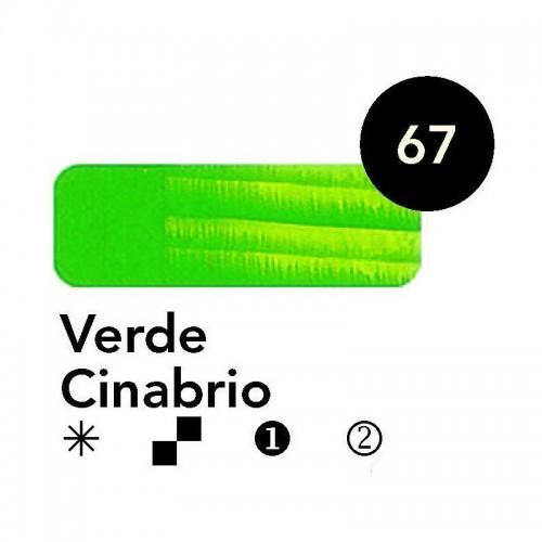 Óleo Goya 200 ml.  Verde Cinabrio 67