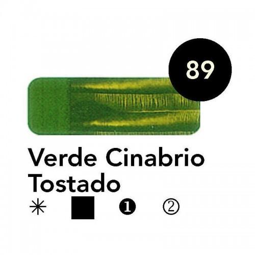 Óleo Goya 200 ml.  Verde Cinabrio Tostado 89