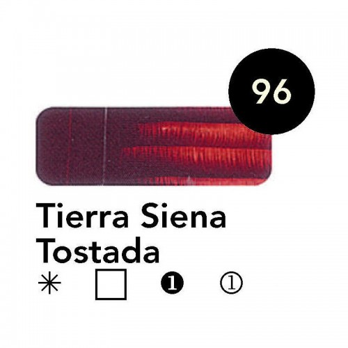 Óleo Goya 200 ml.  Tierra Siena Tostada 96