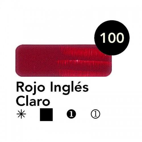 Óleo Goya 200 ml.  Rojo Inglés Claro 100