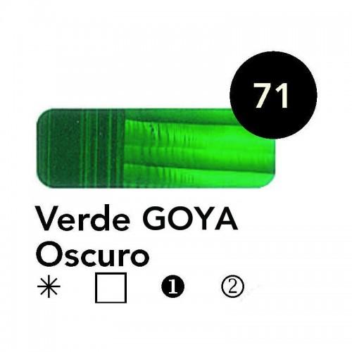ÓLEO  GOYA 60 ML  VERDE GOYA OSCURO