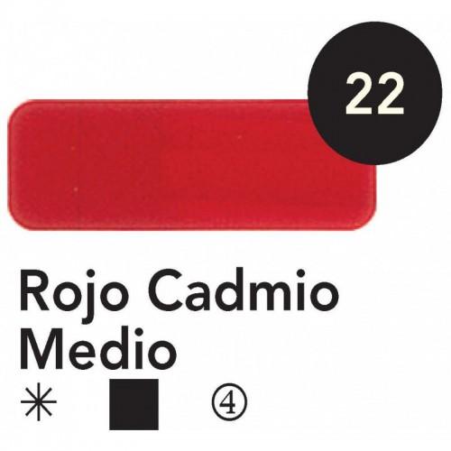 ÓLEO  TITAN 20 ML – ROJO CADMIO MEDIO SERIE 4