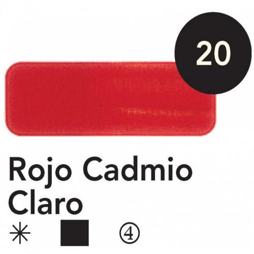 ÓLEO  TITAN 20 ML – ROJO CADMIO CLARO SERIE 4