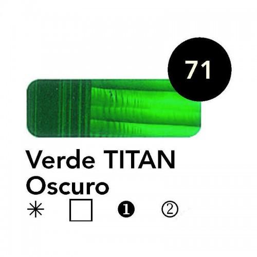 ÓLEO  TITAN 60 ML – VERDE TITAN OSCURO SERIE 2