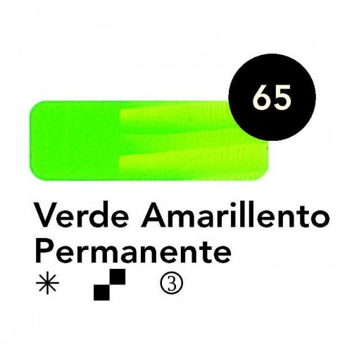 ÓLEO  TITAN 60 ML – VERDE AMARILLENTO PERMANENTE SERIE 3