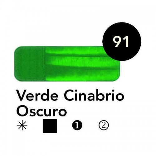 ÓLEO  TITAN 60 ML – VERDE CINABRIO OSCURO SERIE 2