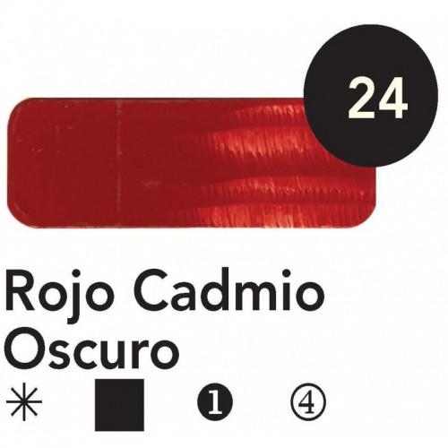 ÓLEO  TITAN 60 ML – ROJO CADMIO OSCURO SERIE 4