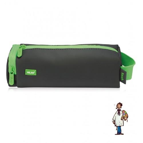 Portatodo cuadrado Touch Fluo verde