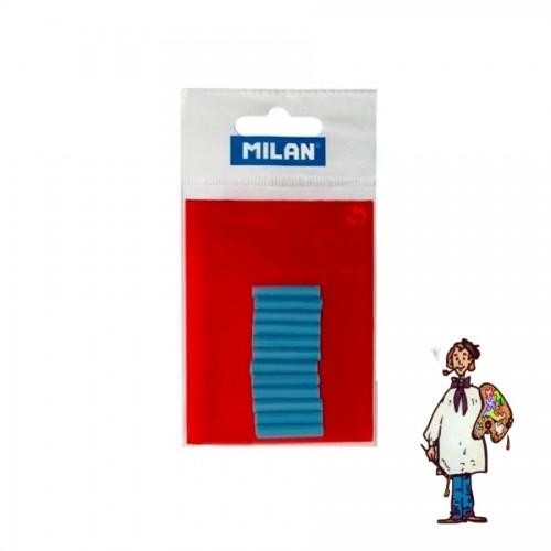 12 recambios borrador eléctrico azules MILAN