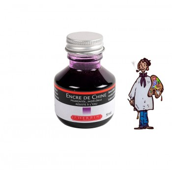 J Herbin Tinta China 50ml - VIOLETA