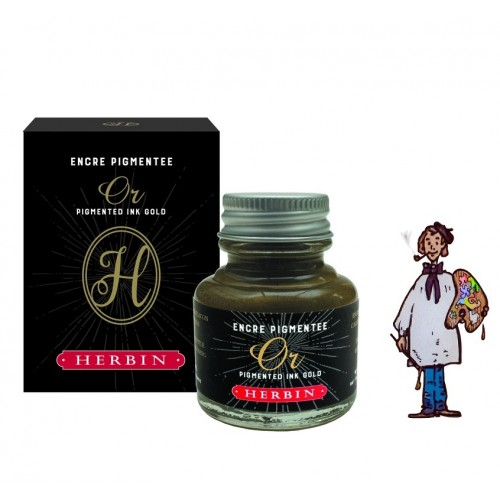 J Herbin Tinta Decorativa 30ml - ORO