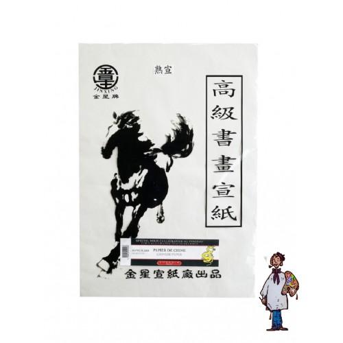 Paq 50 hojas papel Chino 36x52cm