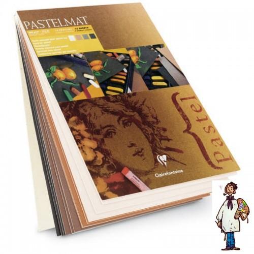 BLOC PASTELMAT 30X40-12H CLAIRFONTAINE Nº 2
