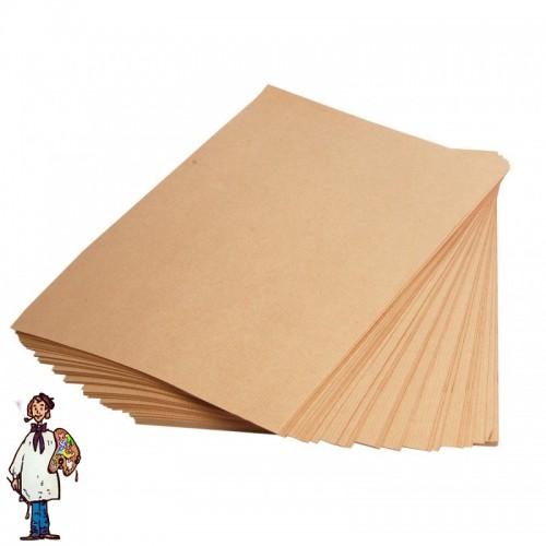 Paquete KRAFT 25 hojas 65x50cm