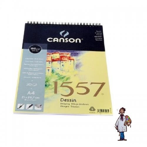 Bloc Espiral Canson 1557 A4 180 gr.