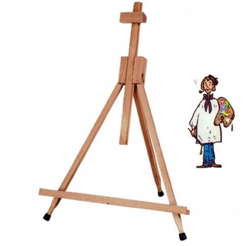 """Caballete de mesa """"tripode"""" madera de Haya"""