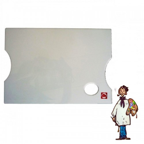 Paleta metacrilato rectangular 40x30cm