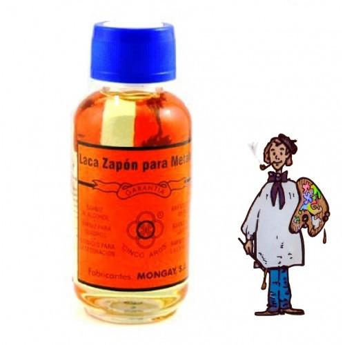 BARNIZ LACA ZAPÓN PARA METALES 125ml