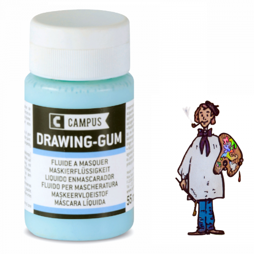 Líquido enmascarador Drawing-gum  Campus 55ml