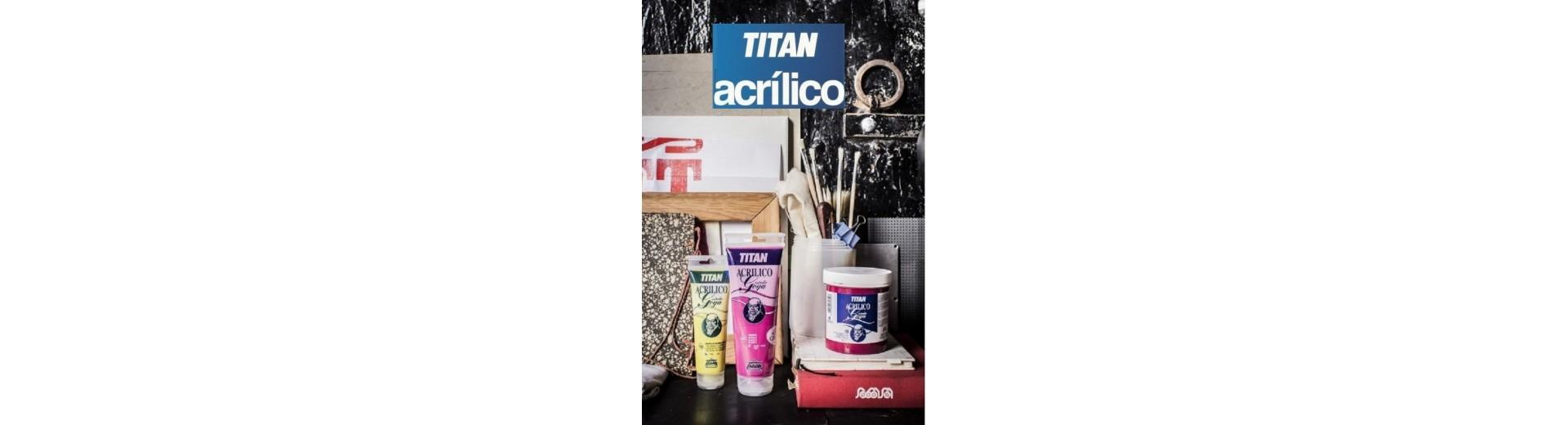 ACRÍLICOS TITAN - MEDIUMS