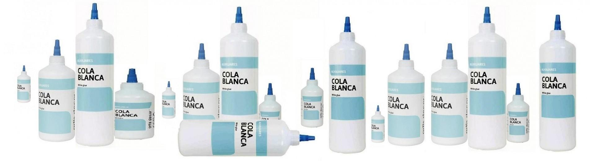Cola blanca y adhesivos